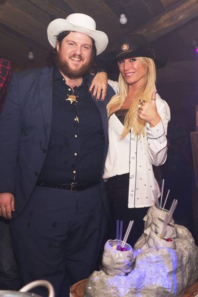 Max Stirling and Denise Van Outen