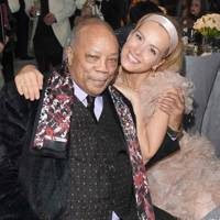 Quincy Jones and Petra Nemcova