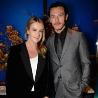 Anya Hindmarch and Luke Evans