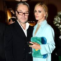 David Downton and Laura Bailey
