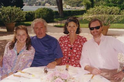 Sylvia de Castellane, Joe Roberts, Mrs John Landis and Prince Pierre D'Arenberg