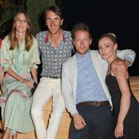 Lady Alice Manners, Otis Ferry, Robin Scott-Lawson and Clara Paget