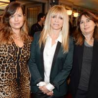 Jade Jagger, Jo Wood and Alexandra Shulman