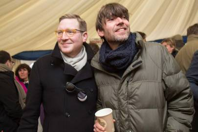 Ed Grant and Alex James