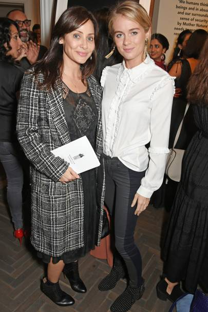 Natalie Imbruglia and Cressida Bonas