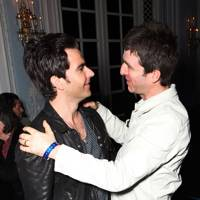 Kelly Jones and Noel Gallagher