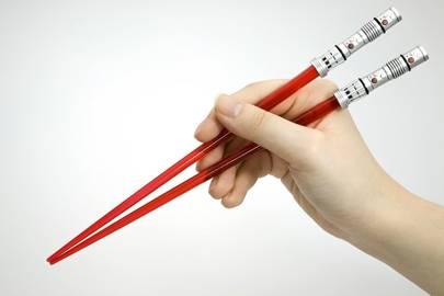 Lightsabre chopsticks