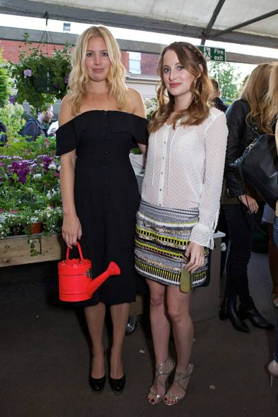 Marissa Montgomery and Rosie Fortescue