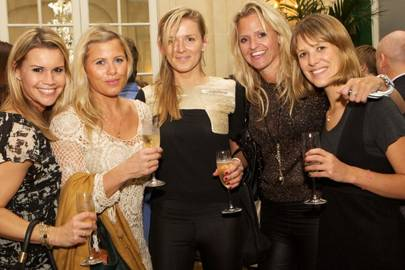 Vanessa Lewis, Joanna Henderson, Hilary Keane, Emma Sayle and Charlotte Taylor