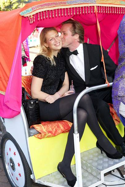 Lady Gabriella Windsor and Tom Kingston