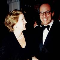 Mrs Nigel Milne and Loyd Grossman