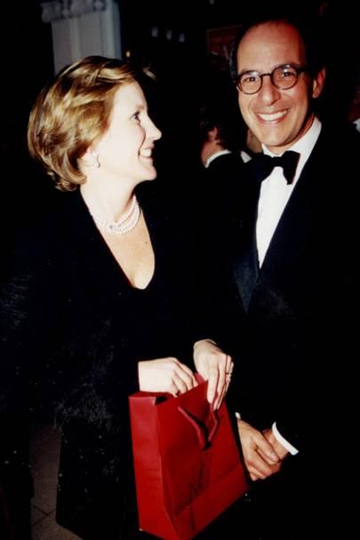 Mrs Nigel Milne and Loyd Grossman
