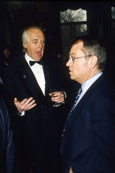 Sir Tim Rice and Lord Archer of Weston-super-Mare