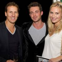 Brendan Cole, Jules Knight and Zoe Cole