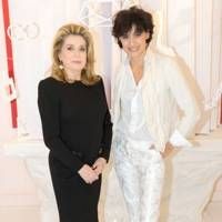 Catherine Deneuve and Inès de la Fressange