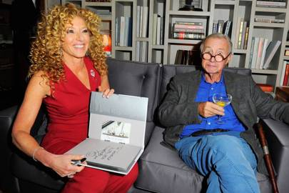 Kelly Hoppen and Sir Terence Conran