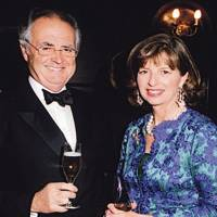 Peter Hambro and Mrs Peter Hambro