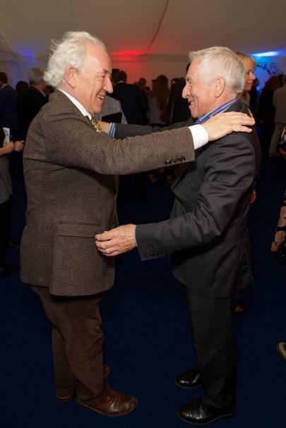 Simon Callow and Jonathan Dimbleby