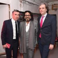 Steve Coogan, Hani Farsi and Steve Marmion