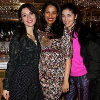 Lara Bohinc, Saloni Lodha and Carolina Issa