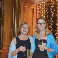 Patricia Stevenson and Emily Neaverson