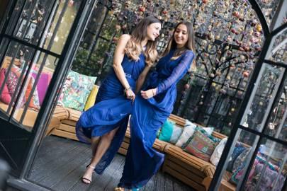 Anisa Sojka and Gabriela Fones