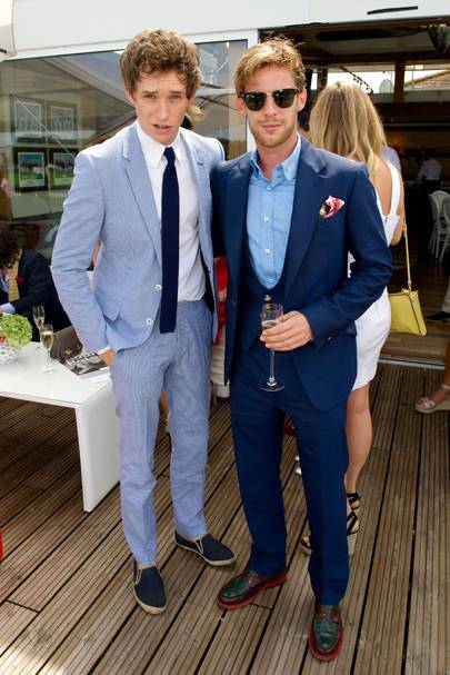 Eddie Redmayne and Luke Treadaway