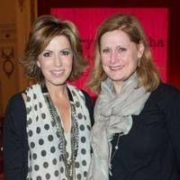 Natasha Kaplinsky and Sarah Brown