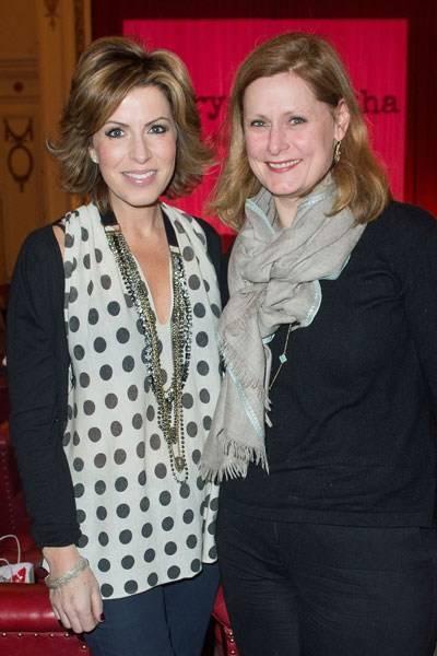 Natasha Kaplinsky and Sarah Brown