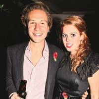 Dave Clark and Princess Beatrice of York