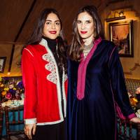 Dana Alikhani and Tatiana Casiraghi