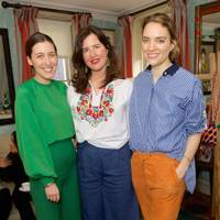 Emilia Wickstead, Celia Munoz and Mariella Tandy
