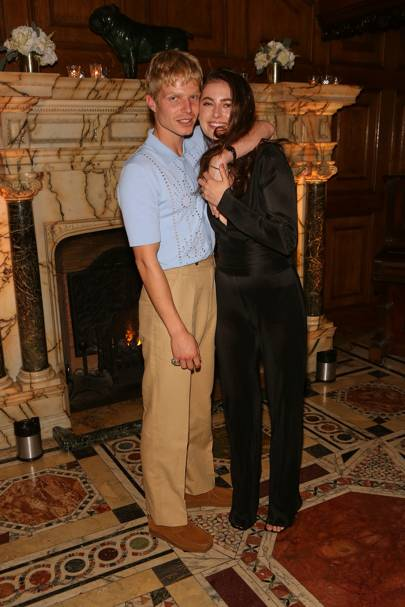 Charley Palmer Rothwell and Millie Brady
