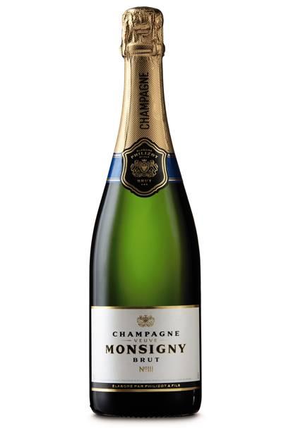 Aldi Veuve Monsigny champagne