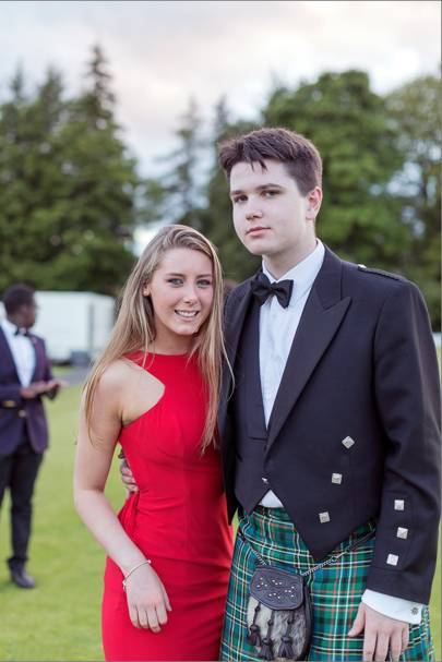 Amber Napthine and Alastair Prenter