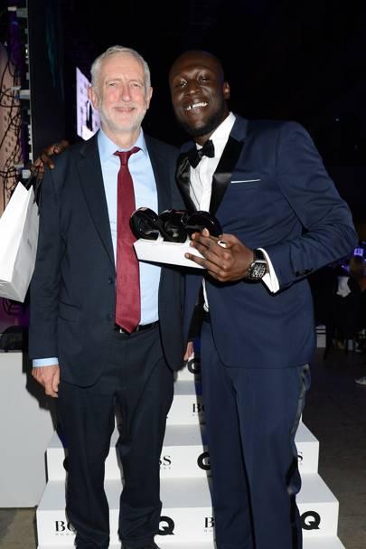 Jeremy Corbyn and Stormzy