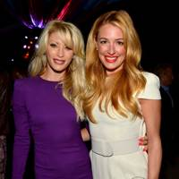 Dani Behr and Cat Deeley