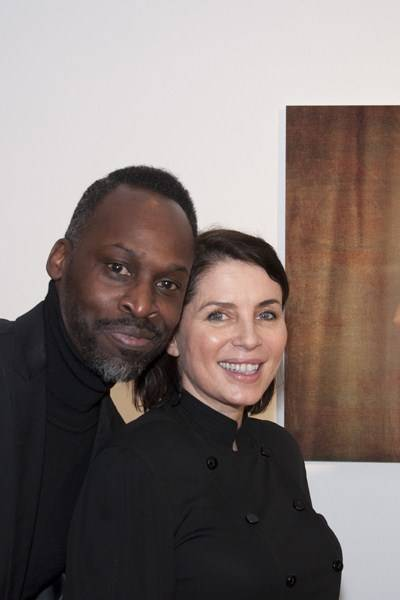 Simon Frederick and Sadie Frost