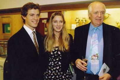 Sir Tim Rice, Donald Rice and Eva Rice