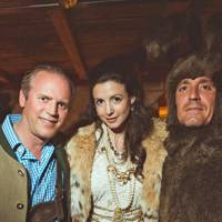 Ed Hanson, Shirley Leigh Wood Oakes and John Dorrance