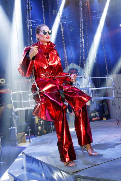 Doutzen Kroes at Natalia Vodianova's Fashion Fund Fair