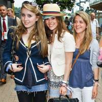 Georgina Hibbert, Holly Downing and Lettie Birkett