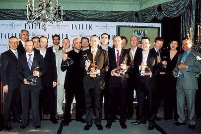 The evening's award winners
