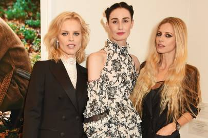 Eva Herzigova, Erin O'Connor and Laura Bailey