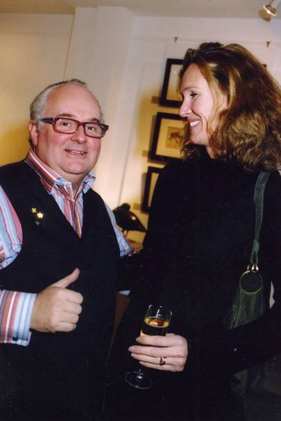 Gerry Farrell and Mrs Michael Treichl