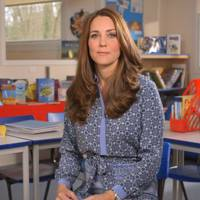 The Duchess of Cambridge (recording a video message for Children's Mental Health Week)