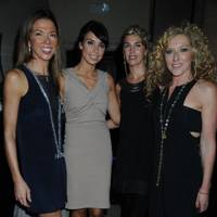 Heather Kerzner, Christine Bleakley, Assia Webster and Kelly Hoppen