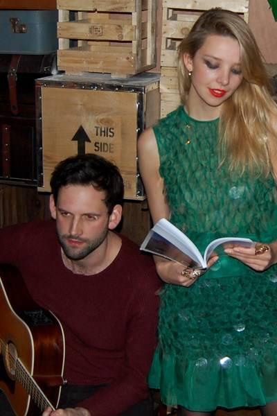 Luke Courtier and Greta Bellamacina