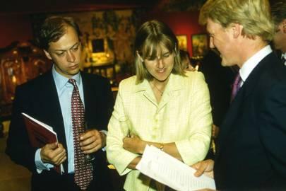 Henry Holland-Hibbert, Lady Rose Monson and Guy Monson