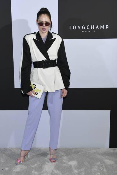 Coco Rocha attends Longchamp